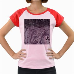 Abstract Art Decoration Design Women s Cap Sleeve T Shirt