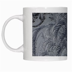 Abstract Art Decoration Design White Mugs