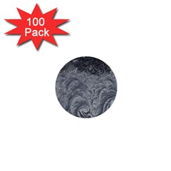 Abstract Art Decoration Design 1  Mini Buttons (100 Pack)