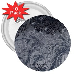 Abstract Art Decoration Design 3  Buttons (10 Pack)
