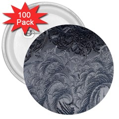 Abstract Art Decoration Design 3  Buttons (100 Pack)