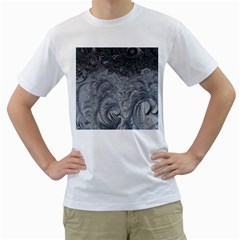 Abstract Art Decoration Design Men s T Shirt (white) (two Sided)