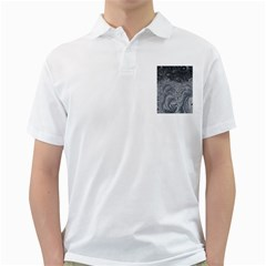 Abstract Art Decoration Design Golf Shirts