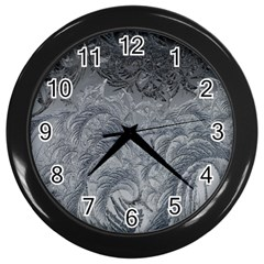 Abstract Art Decoration Design Wall Clocks (black)