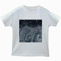 Abstract Art Decoration Design Kids White T Shirts
