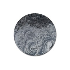 Abstract Art Decoration Design Magnet 3  (round)