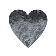 Abstract Art Decoration Design Heart Magnet