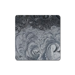 Abstract Art Decoration Design Square Magnet