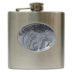 Abstract Art Decoration Design Hip Flask (6 Oz)