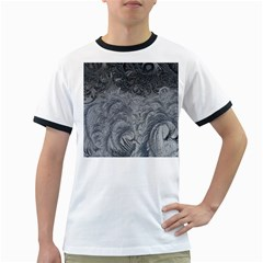 Abstract Art Decoration Design Ringer T Shirts