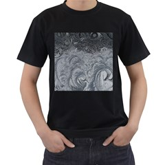 Abstract Art Decoration Design Men s T Shirt (black) (two Sided)