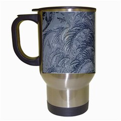 Abstract Art Decoration Design Travel Mugs (white)