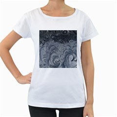 Abstract Art Decoration Design Women s Loose Fit T Shirt (white)