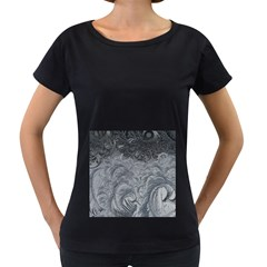 Abstract Art Decoration Design Women s Loose Fit T Shirt (black)
