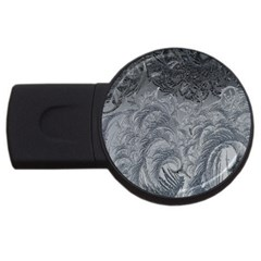 Abstract Art Decoration Design Usb Flash Drive Round (4 Gb)