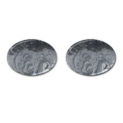 Abstract Art Decoration Design Cufflinks (oval)