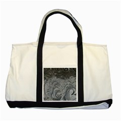 Abstract Art Decoration Design Two Tone Tote Bag