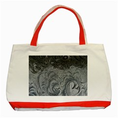 Abstract Art Decoration Design Classic Tote Bag (red)
