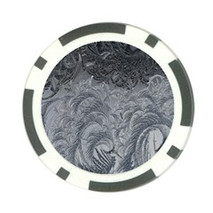 Abstract Art Decoration Design Poker Chip Card Guard