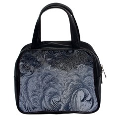 Abstract Art Decoration Design Classic Handbags (2 Sides)