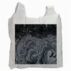 Abstract Art Decoration Design Recycle Bag (two Side)