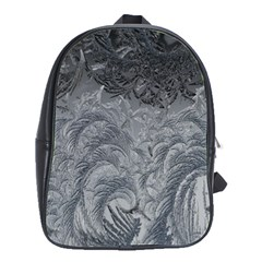 Abstract Art Decoration Design School Bag (large)