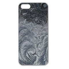 Abstract Art Decoration Design Apple Seamless Iphone 5 Case (clear)