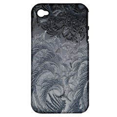 Abstract Art Decoration Design Apple Iphone 4/4s Hardshell Case (pc+silicone)