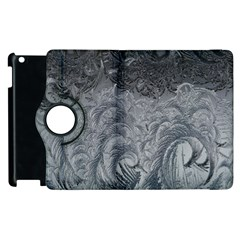 Abstract Art Decoration Design Apple Ipad 2 Flip 360 Case