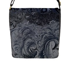 Abstract Art Decoration Design Flap Messenger Bag (l)