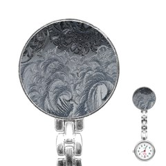 Abstract Art Decoration Design Stainless Steel Nurses Watch