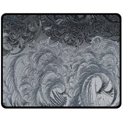 Abstract Art Decoration Design Double Sided Fleece Blanket (medium)