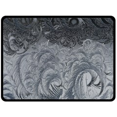 Abstract Art Decoration Design Double Sided Fleece Blanket (large)