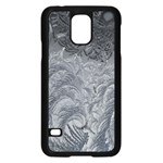 Abstract Art Decoration Design Samsung Galaxy S5 Case (Black) Front