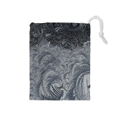 Abstract Art Decoration Design Drawstring Pouches (medium)