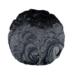 Abstract Art Decoration Design Standard 15  Premium Flano Round Cushions