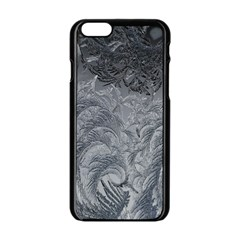 Abstract Art Decoration Design Apple Iphone 6/6s Black Enamel Case