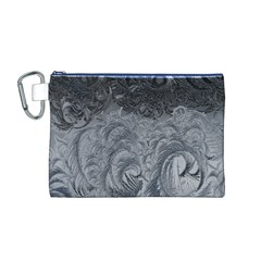 Abstract Art Decoration Design Canvas Cosmetic Bag (m)