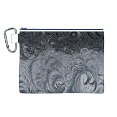 Abstract Art Decoration Design Canvas Cosmetic Bag (l)
