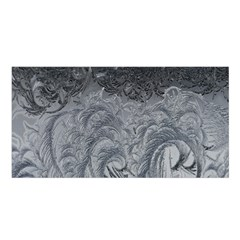 Abstract Art Decoration Design Satin Shawl