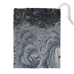 Abstract Art Decoration Design Drawstring Pouches (xxl)