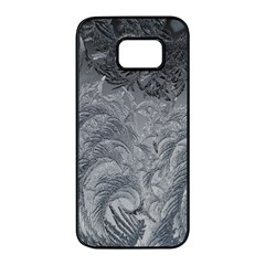 Abstract Art Decoration Design Samsung Galaxy S7 Edge Black Seamless Case