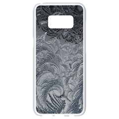 Abstract Art Decoration Design Samsung Galaxy S8 White Seamless Case