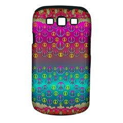 Years Of Peace Living In A Paradise Of Calm And Colors Samsung Galaxy S Iii Classic Hardshell Case (pc+silicone)