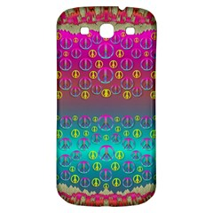 Years Of Peace Living In A Paradise Of Calm And Colors Samsung Galaxy S3 S Iii Classic Hardshell Back Case