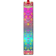 Years Of Peace Living In A Paradise Of Calm And Colors Large Book Marks