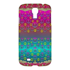 Years Of Peace Living In A Paradise Of Calm And Colors Samsung Galaxy S4 I9500/i9505 Hardshell Case