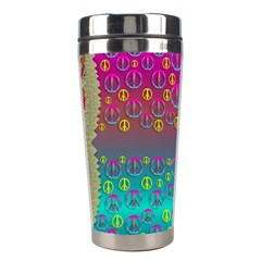 Years Of Peace Living In A Paradise Of Calm And Colors Stainless Steel Travel Tumblers