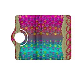 Years Of Peace Living In A Paradise Of Calm And Colors Kindle Fire Hd (2013) Flip 360 Case