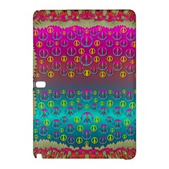 Years Of Peace Living In A Paradise Of Calm And Colors Samsung Galaxy Tab Pro 10 1 Hardshell Case